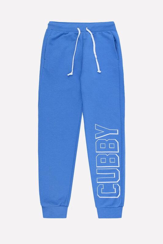 CUBBY Брюки ярко-голубой