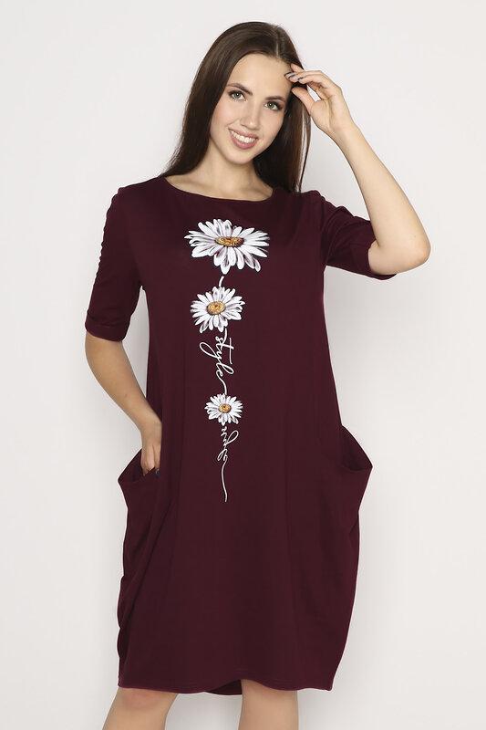 MARGO Платье бордо