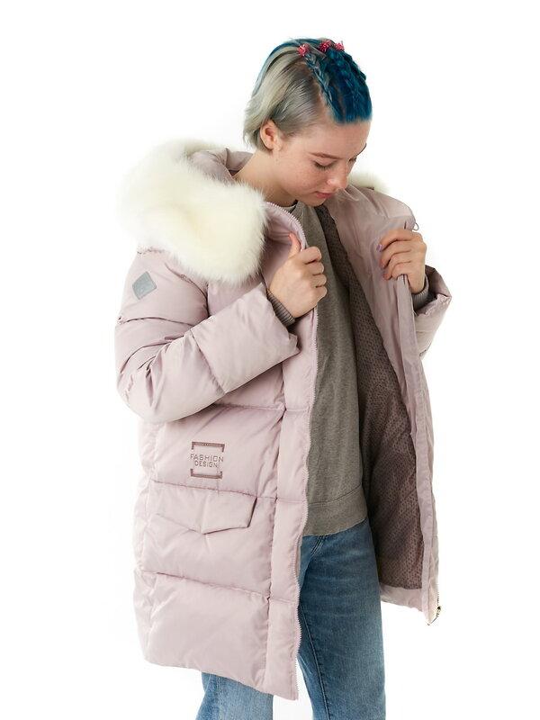 АКСАРТ Детское пальто пыльная роза