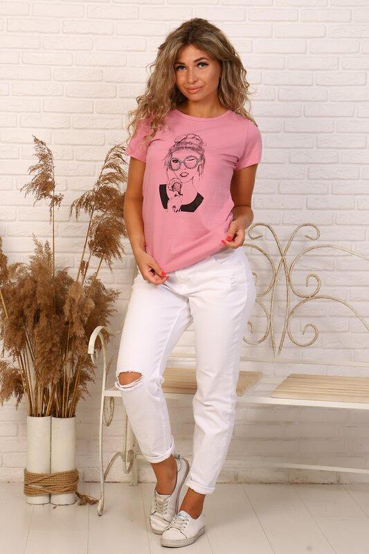 Lika Dress Футболка Розовый