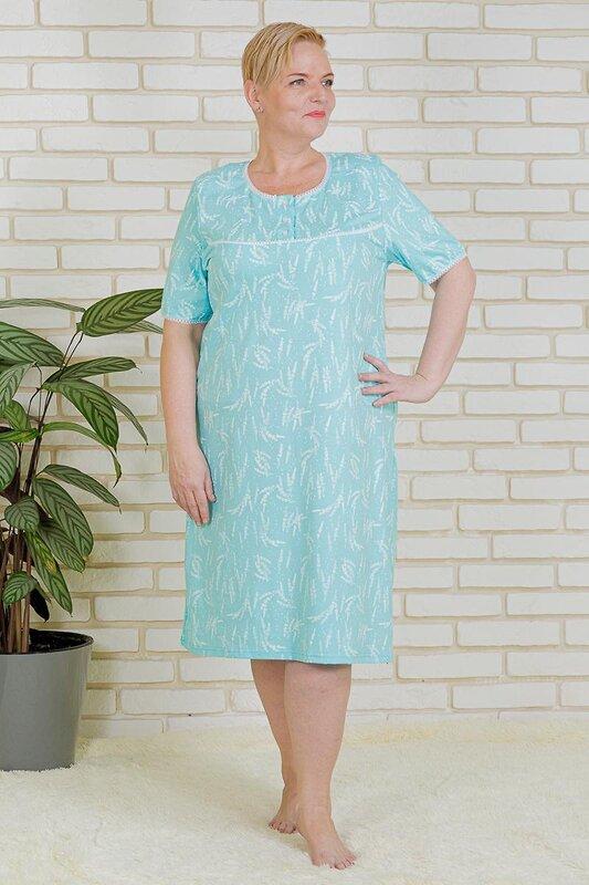 Lika Dress Сорочка Голубой