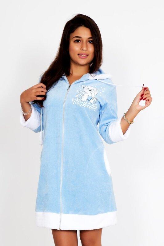 Lika Dress Халат Голубой