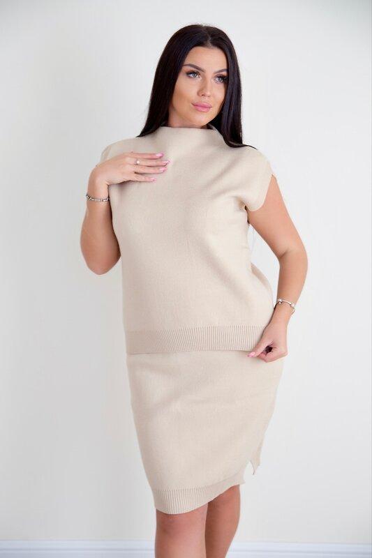 Lika Dress Жилет Бежевый