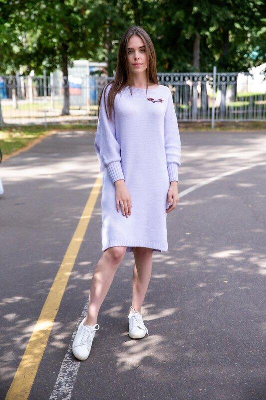 Lika Dress Платье Фиолетовый