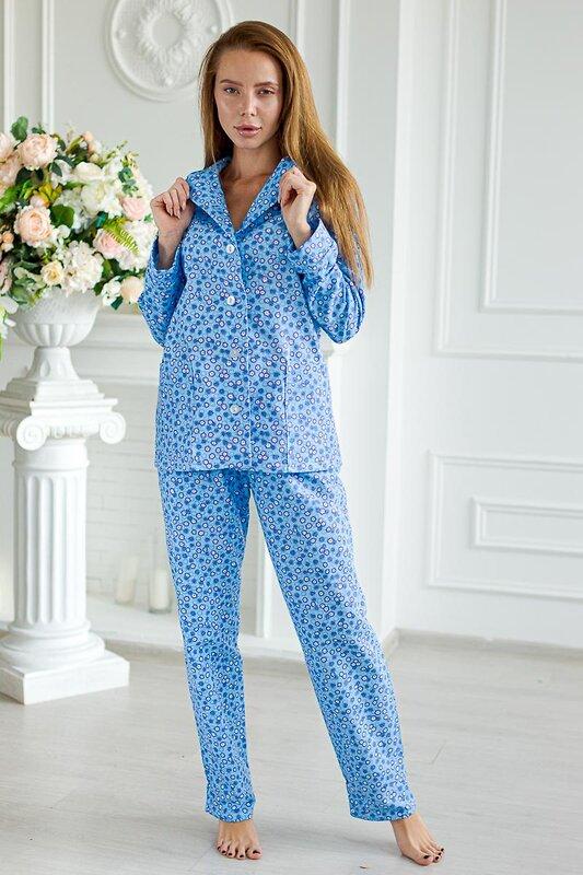Lika Dress Пижама Голубой