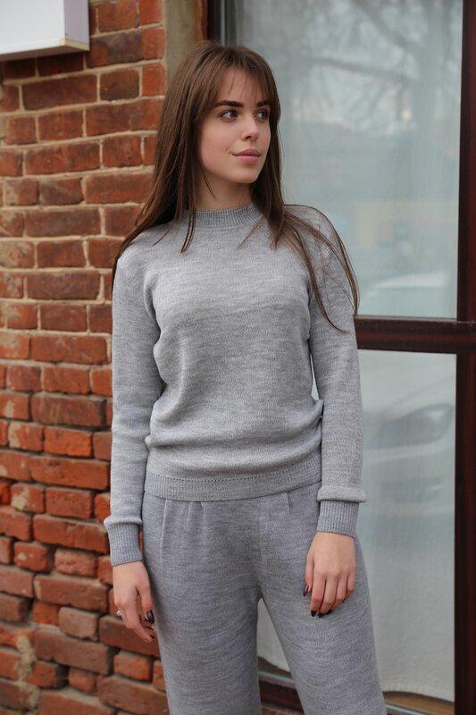 Lika Dress Джемпер Серый