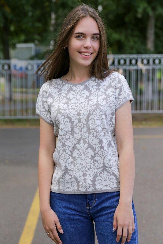 Lika Dress Джемпер Бежевый