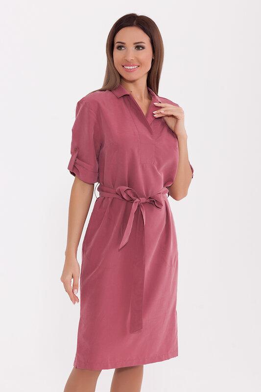 акция -40% до 30августа ARGENT Платье Розовый