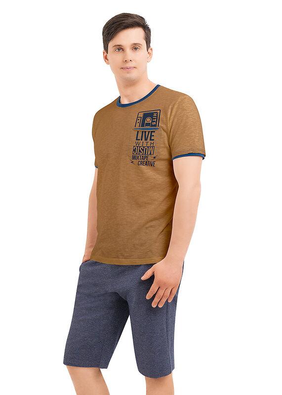 CLEVER Комплект коричневый/т.синий