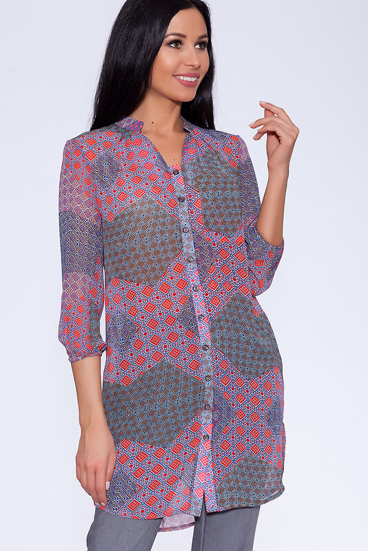 BRAVISSIMO акция -  59% акция -  % Платье-рубашка Мульти