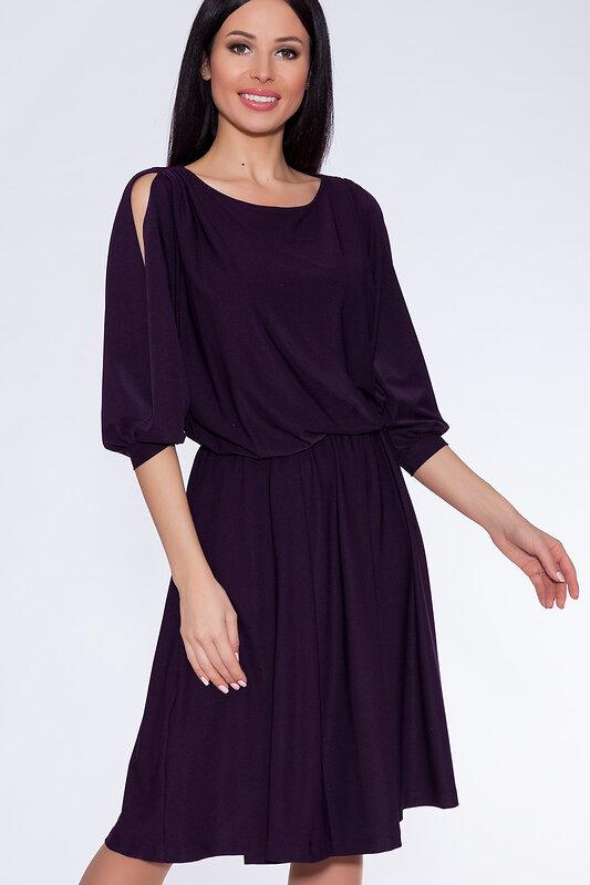 акция -52% до 30августа ARGENT Платье Темно-фиолетовый