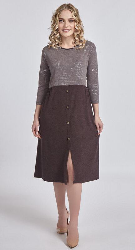 RISE Платье Шоколадный