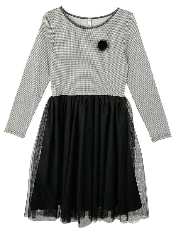PLAYTODAY Платье черный,серый