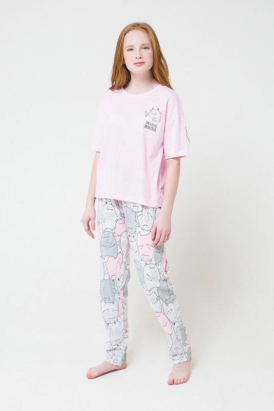 CUBBY Комплект светло-розовый