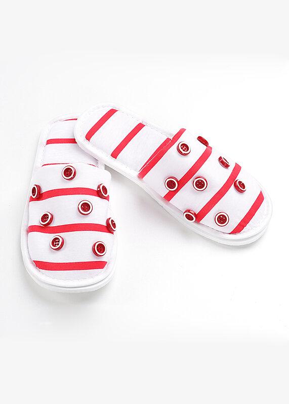CLEVER Пантолеты белый/красный
