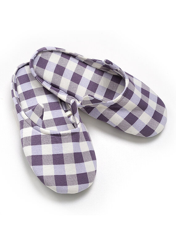 CLEVER Пантолеты молочный/фиолетовый