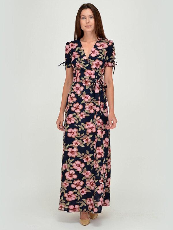 VISERDI Платье Сине-розовый