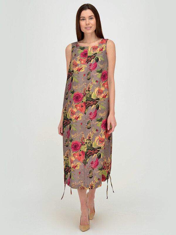 VISERDI Платье серо-розовый
