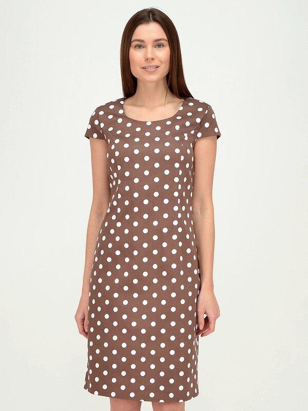 VISERDI Платье коричневый