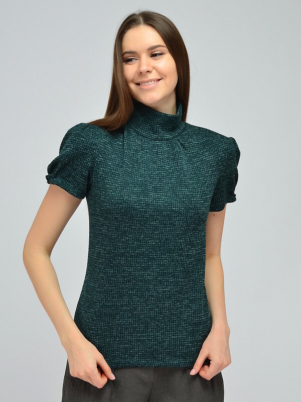 VISERDI Блузка зеленый