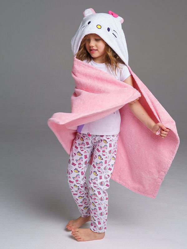 скидка -35% PLAYTODAY Полотенце белый, розовый