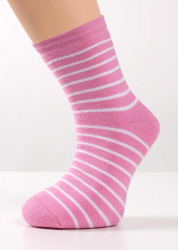 CLEVER Носки розовый/белый