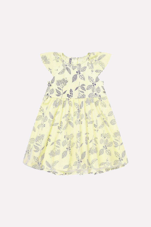 #70124 Платье желтый