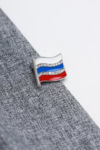 FASHION JEWELRY Брошь 122567 FJ-T6 Серебристый