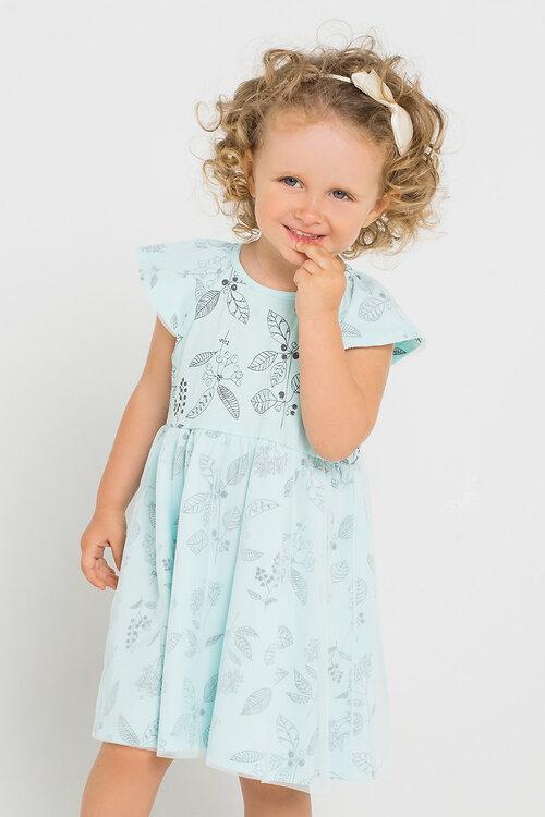 #71381 Платье бирюзовый