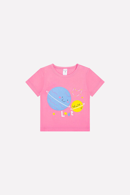 #94296 Футболка ярко-розовый