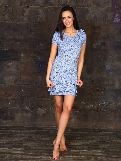 #99395 Платье Голубой