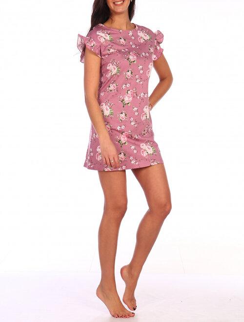 #99396 Платье Розовый