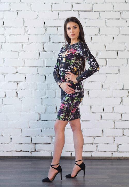 #99398 Платье черный