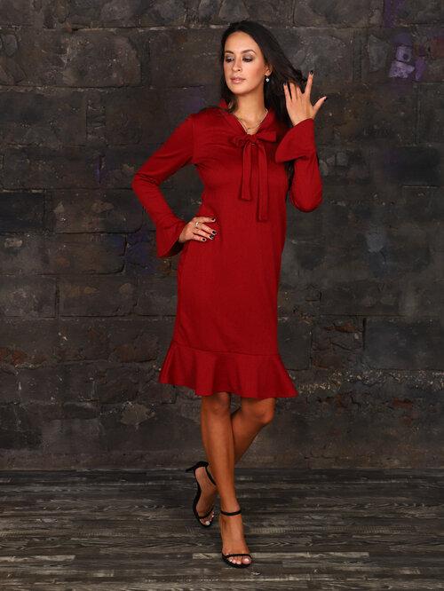 #99404 Платье красный