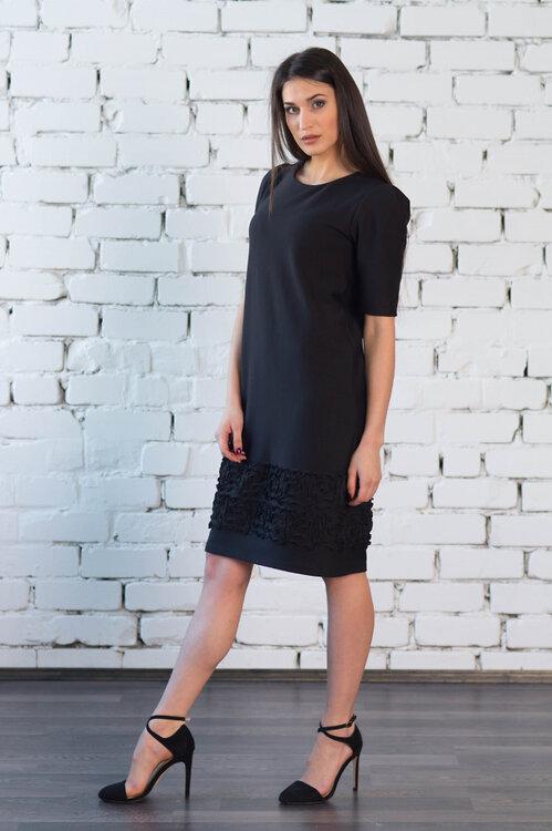 #99405 Платье черный