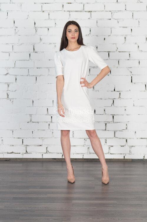 #99406 Платье Белый
