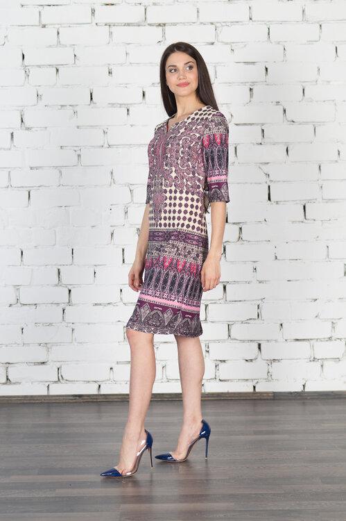 #99410 Платье Розовый