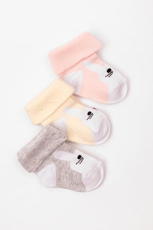 СКИДКИ до 01 июня #102852 Детские носки Серый3шт