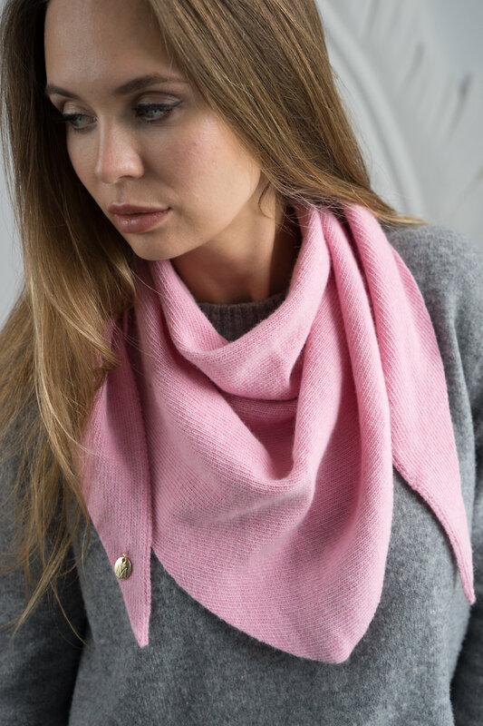 Mira Adriana Косынка 78173 7.572-04 Розовый оптом от Engros