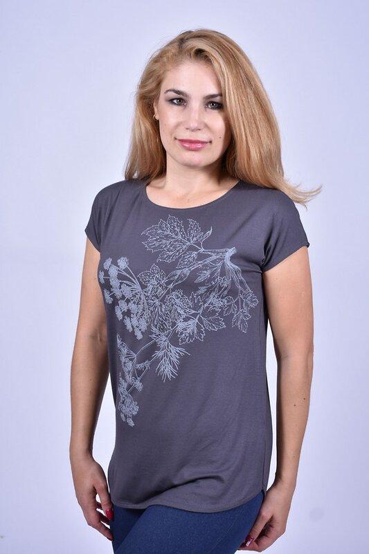 Глория Джемпер 91956 W8-498 Серый оптом от Engros