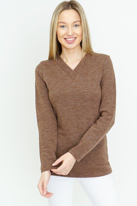 Binita Джемпер 96595 156/1-2 коричневый оптом от Engros