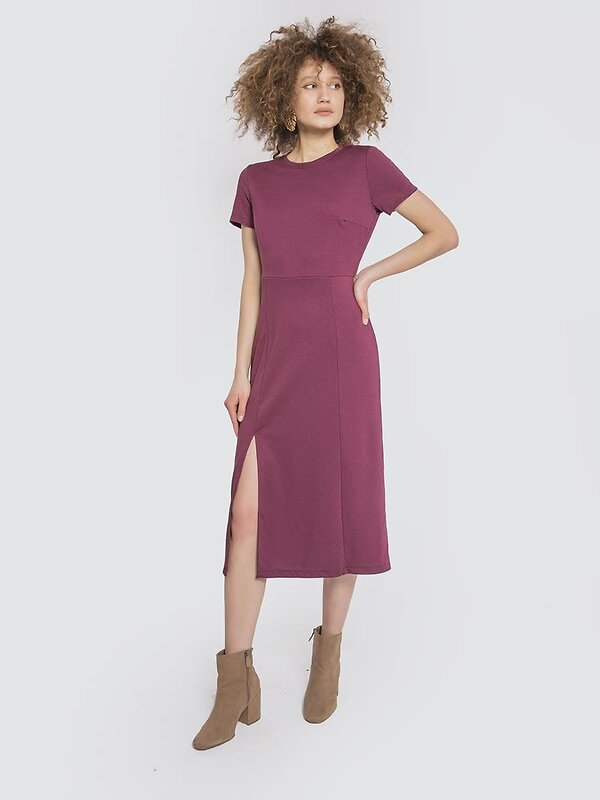 MARK FORMELLE Платье 103785 152387 бордо оптом от Engros