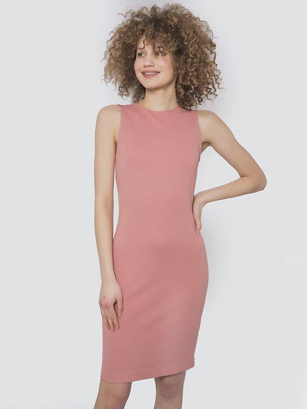 MARK FORMELLE Платье 103804 152386 розовое дерево оптом от Engros