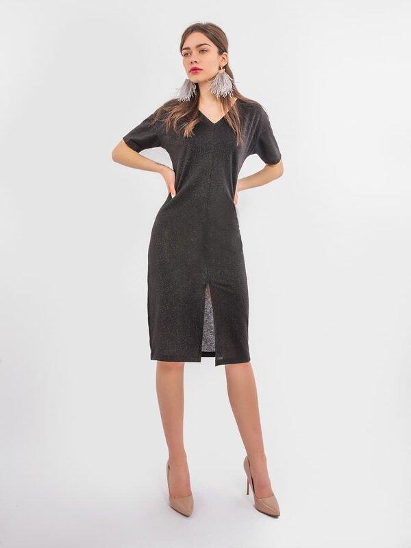 MARK FORMELLE Платье 104016 152314 черный оптом от Engros