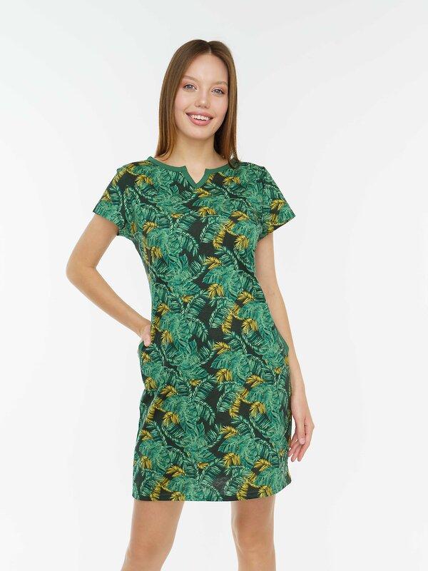 Binita Туника 106456 638-17 темно-зеленый оптом от Engros