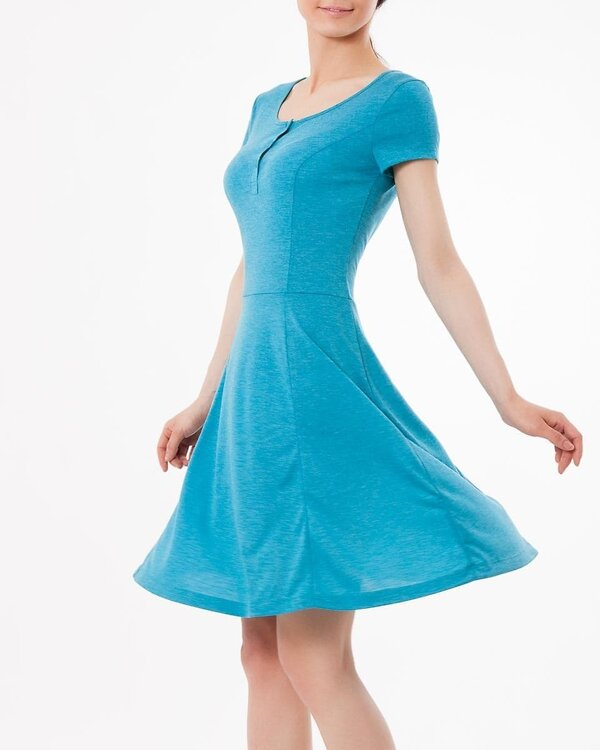 MARK FORMELLE Платье 109695 152247 бирюзовый оптом от Engros