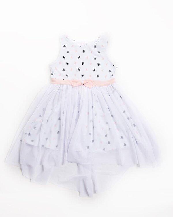 MARK FORMELLE Платье 109701 157725 сердечки на белом оптом от Engros