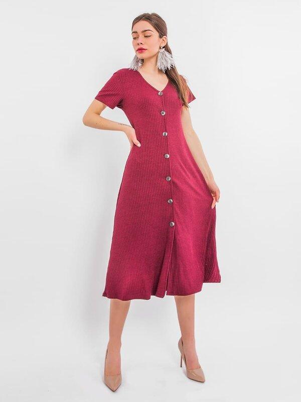 MARK FORMELLE Платье 109752 152332 спелая вишня оптом от Engros