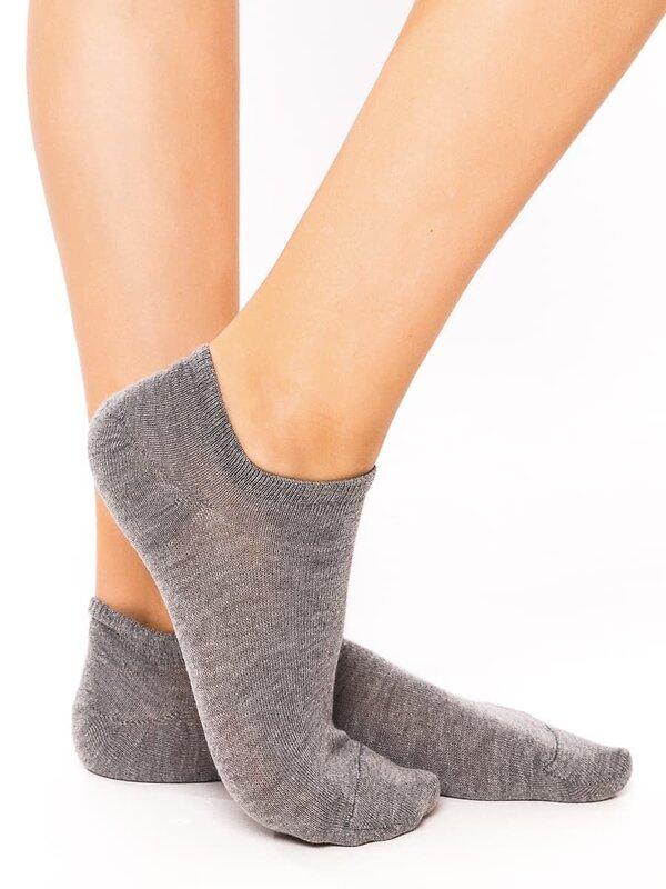 MARK FORMELLE Женские носки 114838 310C-210 серый меланж оптом от Engros