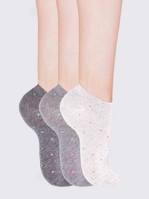 MARK FORMELLE Женские носки 115260 306A-117 св.серый меланж-3 оптом от Engros